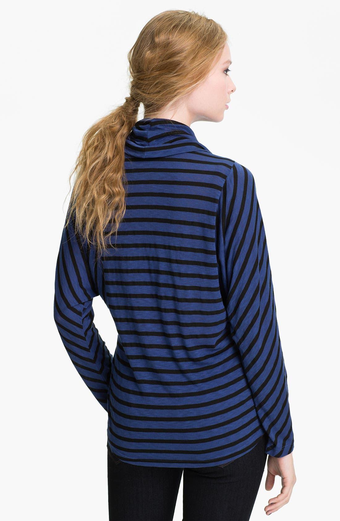 Alternate Image 2  - Splendid 'Venice' Stripe Cowl Neck Top
