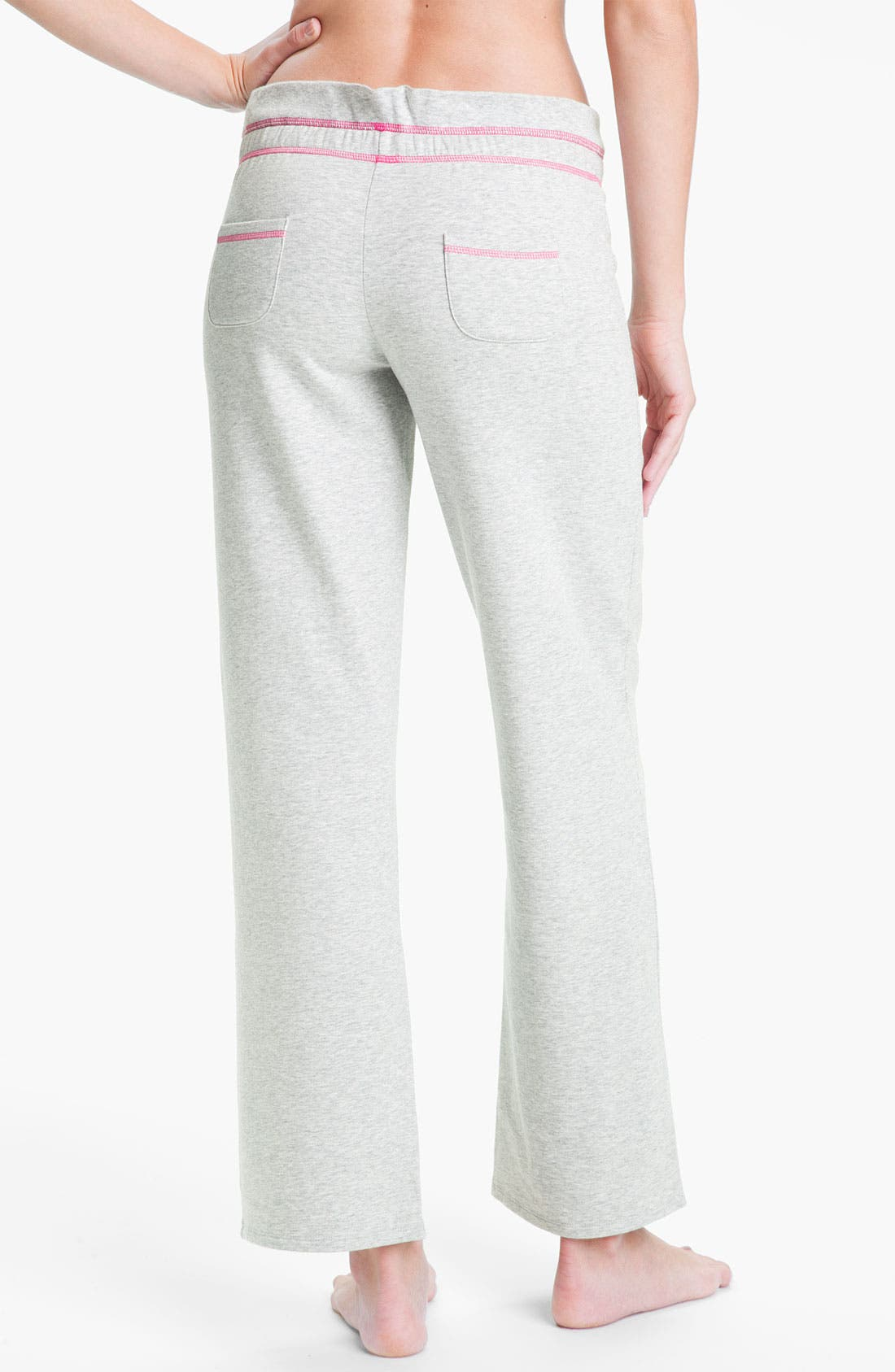 Alternate Image 2  - Betsey Johnson 'Minnie' Fleece Pants