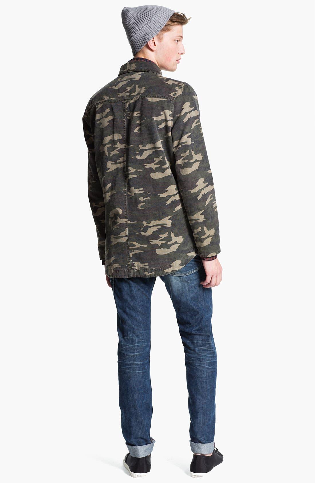 Alternate Image 6  - DIESEL® 'Ty-Tool' Straight Leg Jeans (0804N)