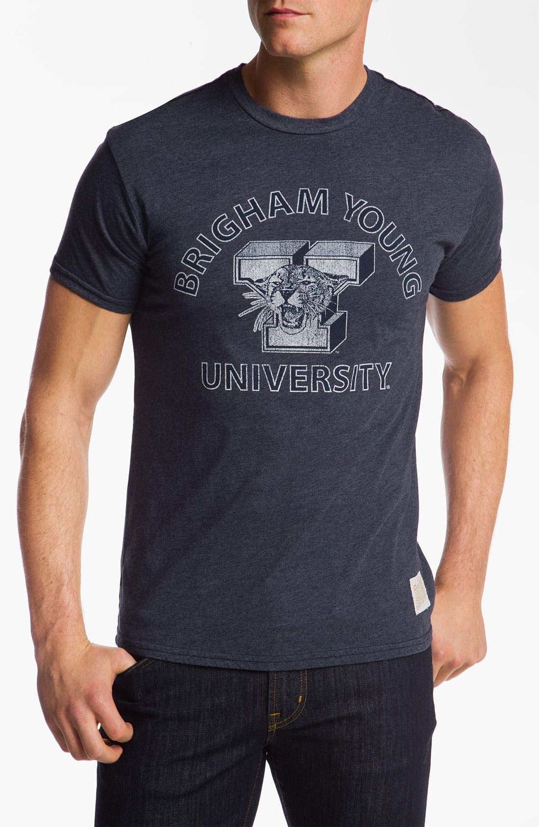 Main Image - The Original Retro Brand 'Brigham Young' T-Shirt