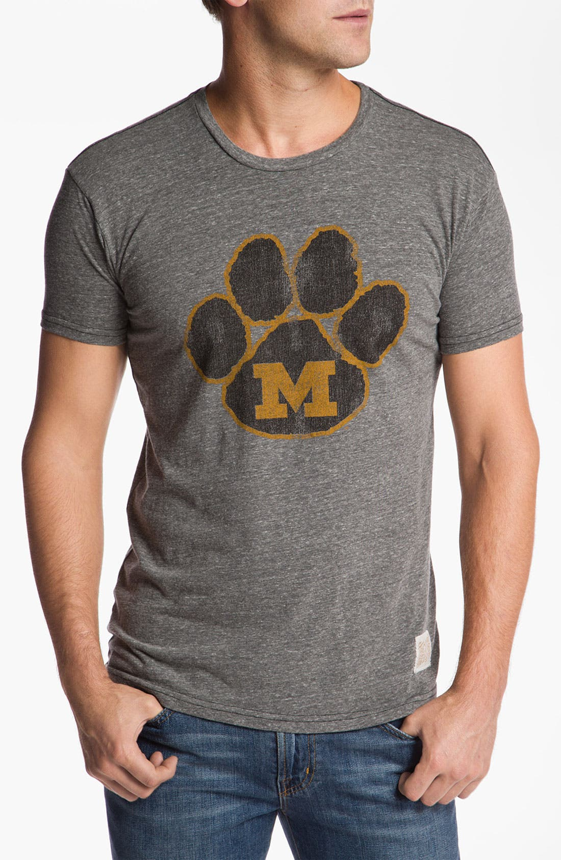 Alternate Image 1 Selected - The Original Retro Brand 'Missouri Tigers - Stitch' T-Shirt