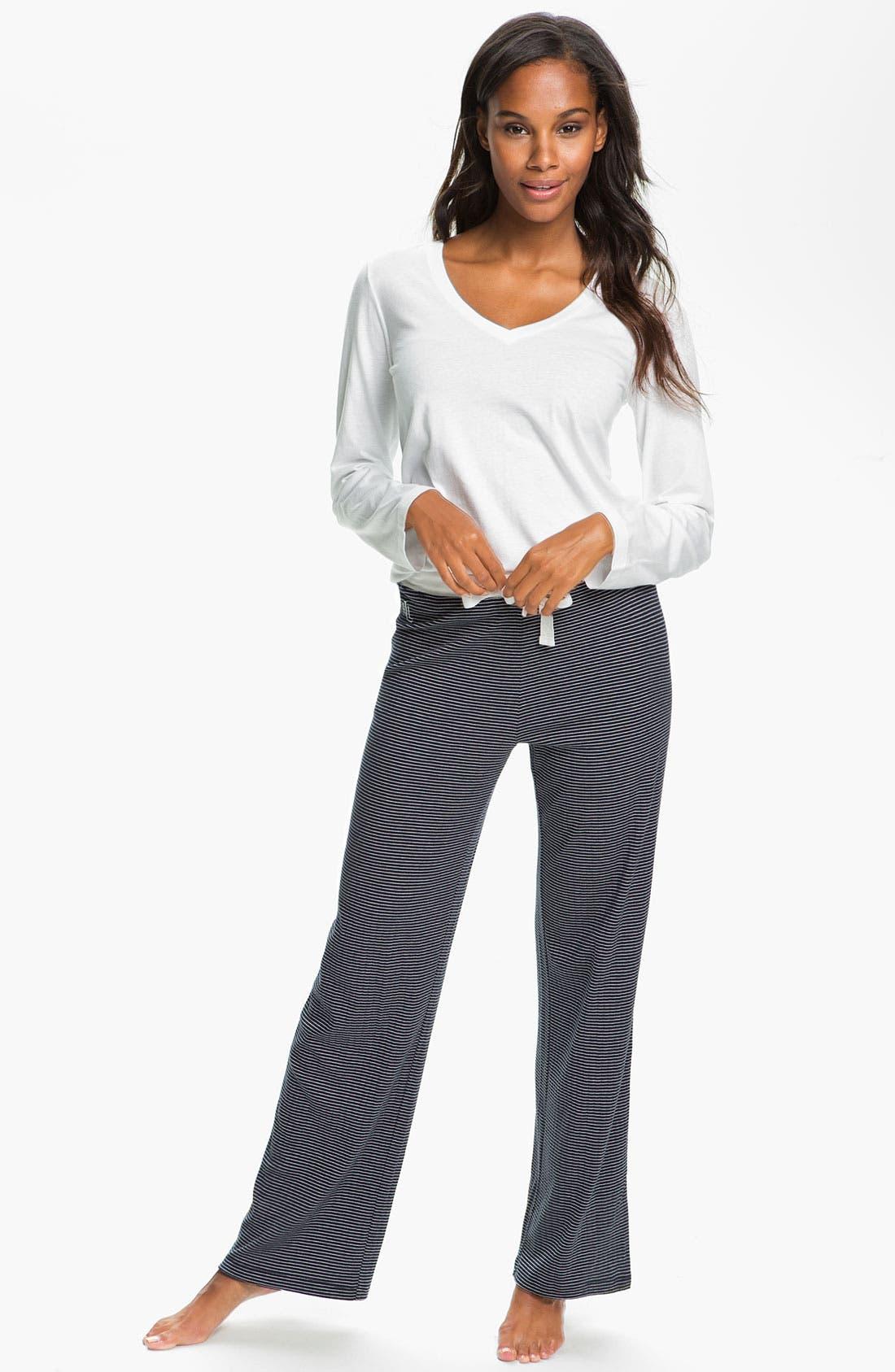 Alternate Image 4  - Lauren Ralph Lauren Sleepwear Knit Pants