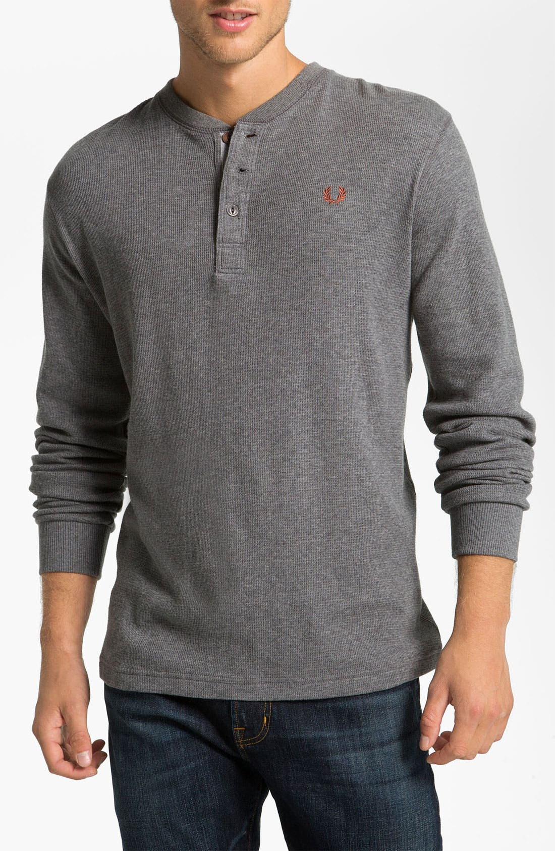 Alternate Image 1 Selected - Fred Perry Long Sleeve Henley