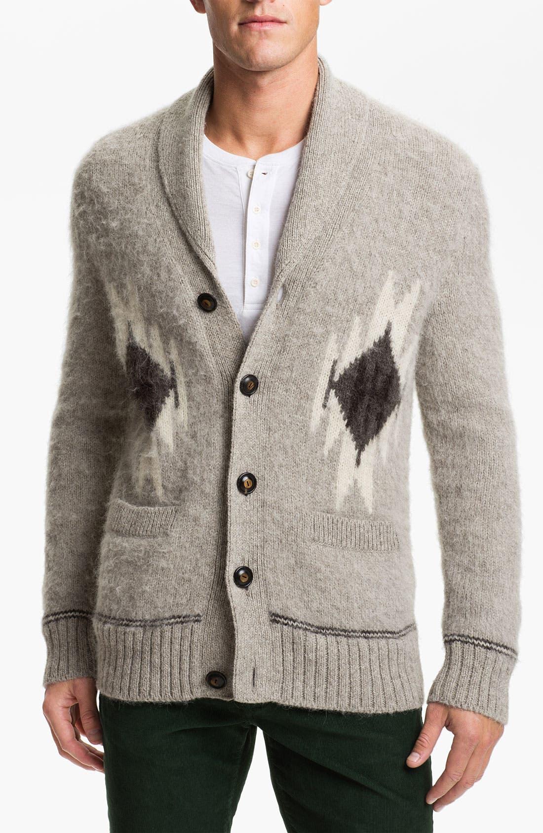 Alternate Image 1 Selected - Vince Alpaca Shawl Collar Cardigan
