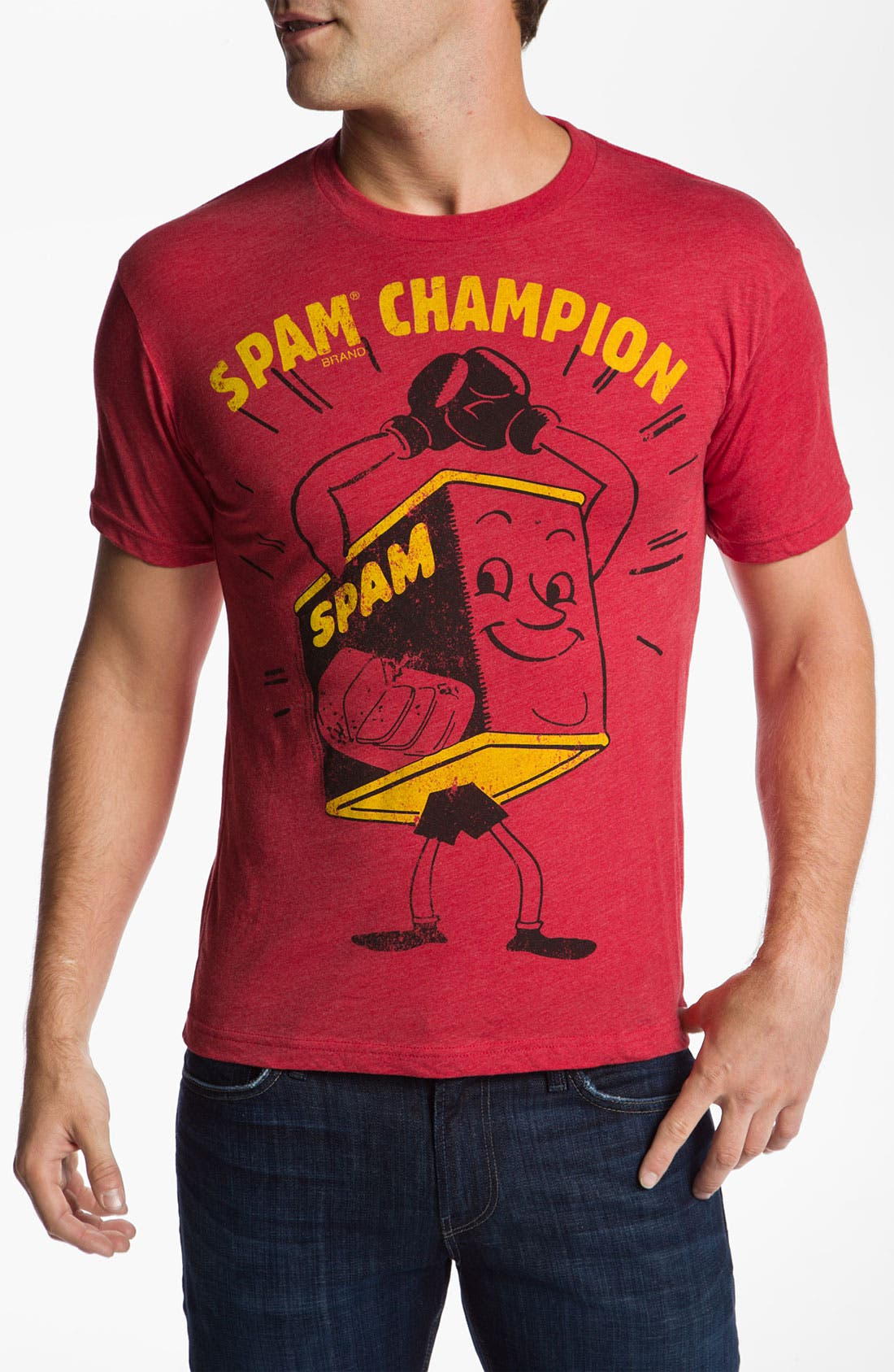 Alternate Image 1 Selected - Free Authority 'SPAM Champion' Graphic T-Shirt