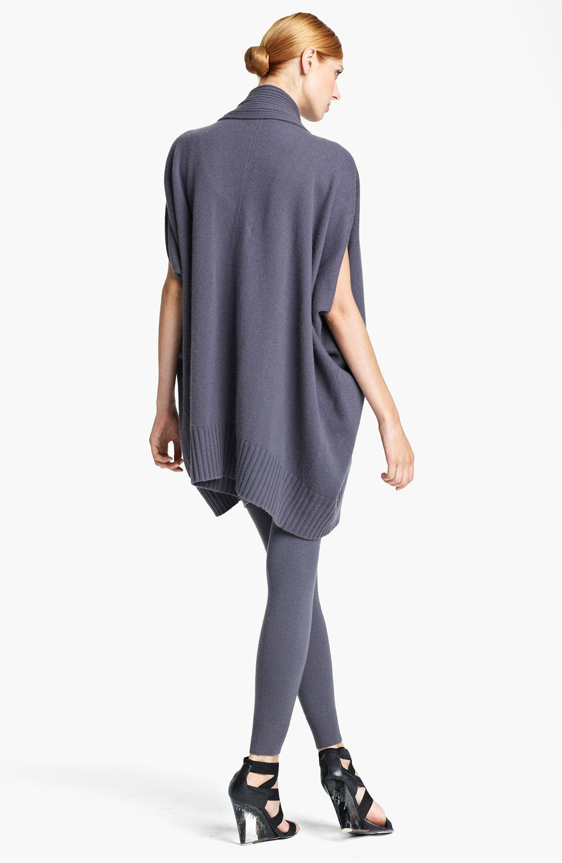 Alternate Image 3  - Donna Karan Collection Draped Cashmere Cardigan