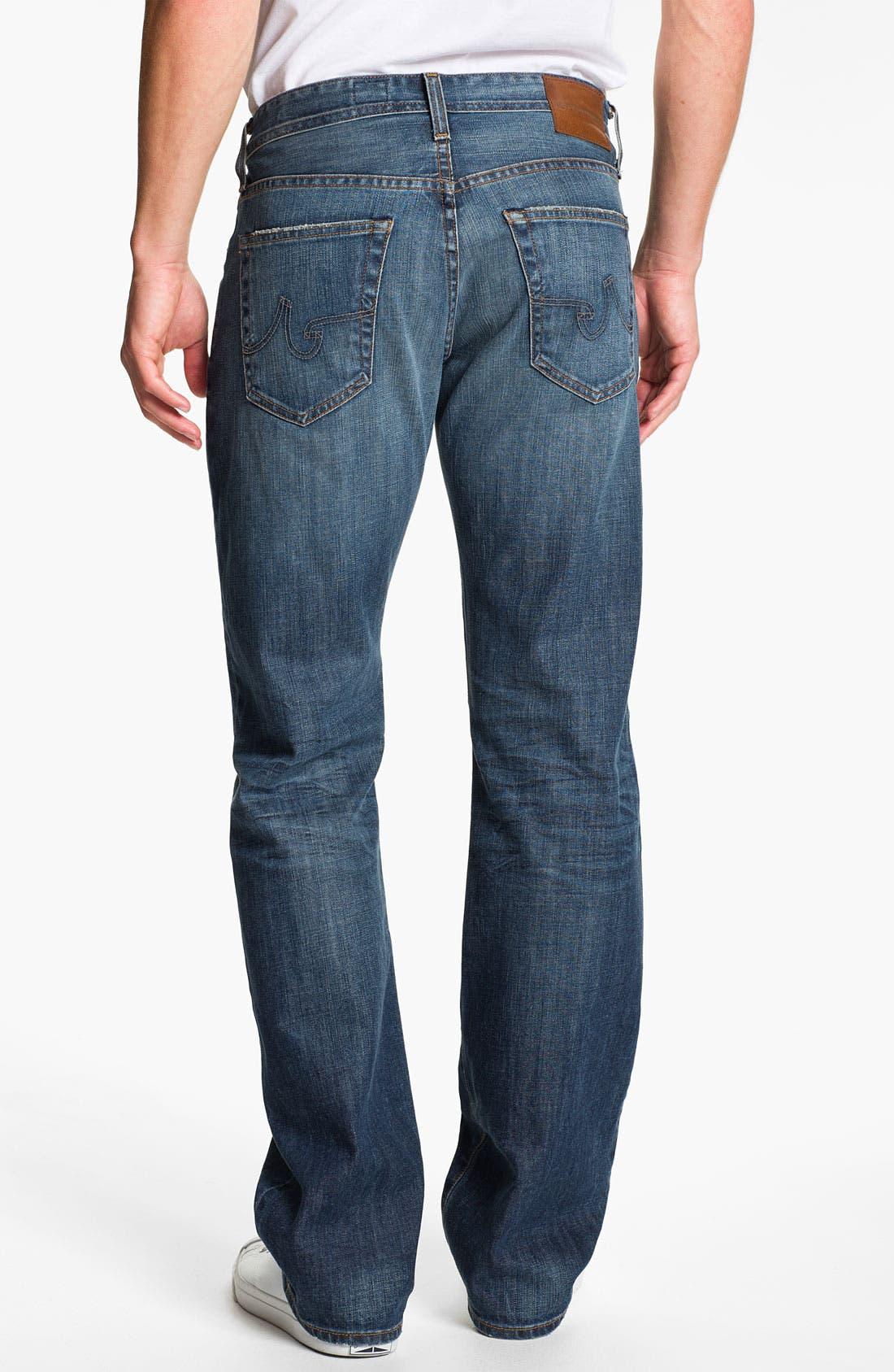 Alternate Image 2  - AG Jeans 'Protégé' Straight Leg Jeans (Eleven Year)