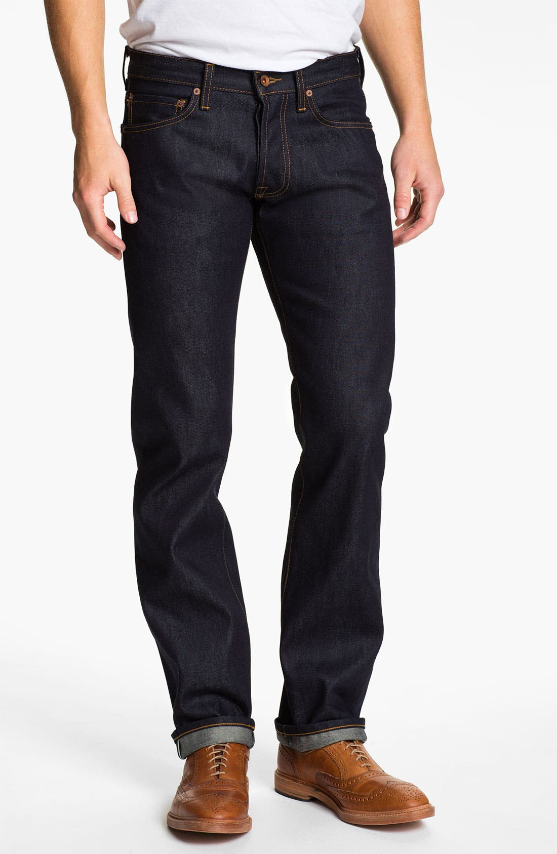 Alternate Image 2  - Baldwin 'Reed' Straight Leg Jeans (Dry)