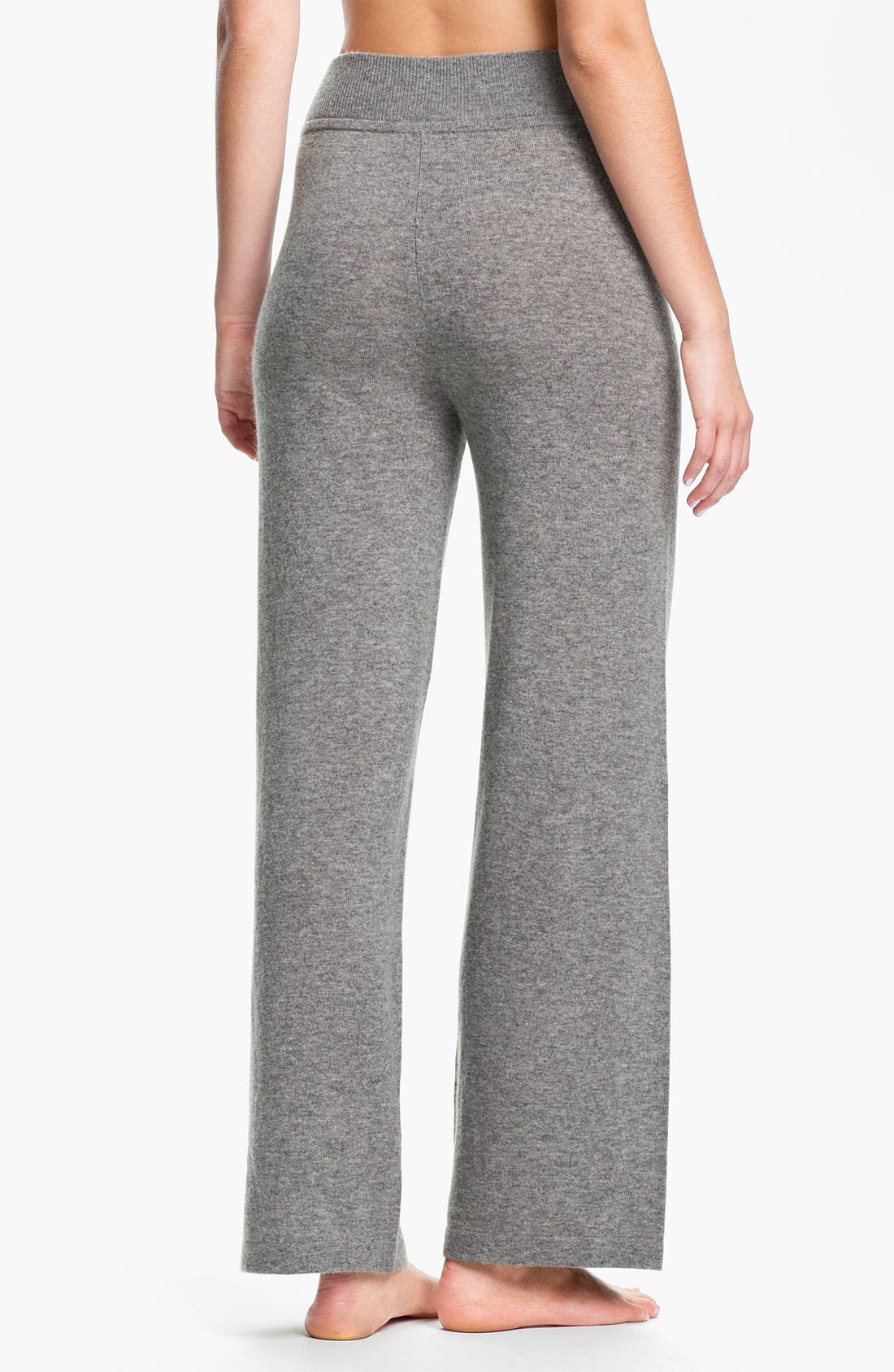 Alternate Image 2  - Donna Karan 'Cozy' Sweater Knit Lounge Pants