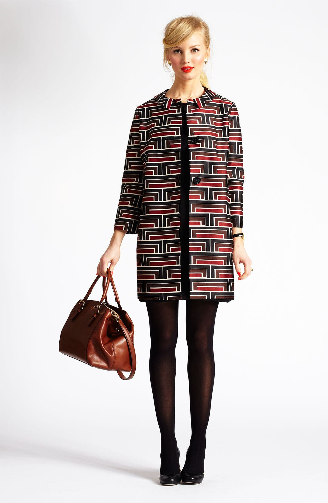 Alternate Image 1 Selected - kate spade new york 'lea' coat