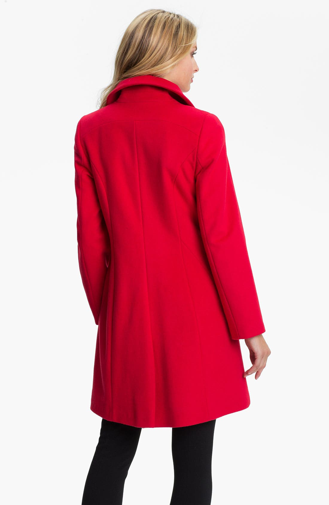 Alternate Image 2  - Kristen Blake Single Breasted Walking Coat