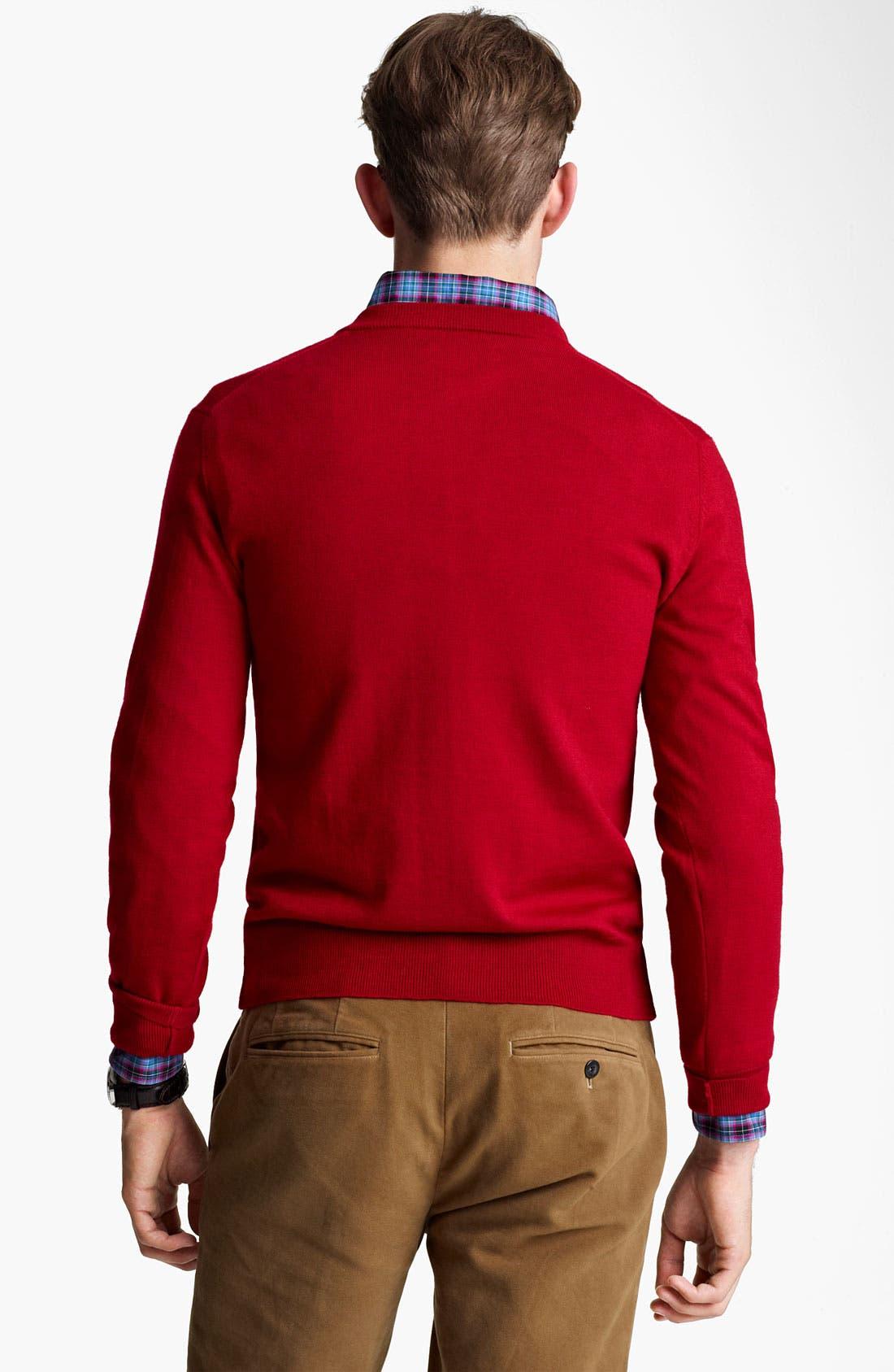 Alternate Image 2  - Jack Spade 'Emmet' V-Neck Sweater