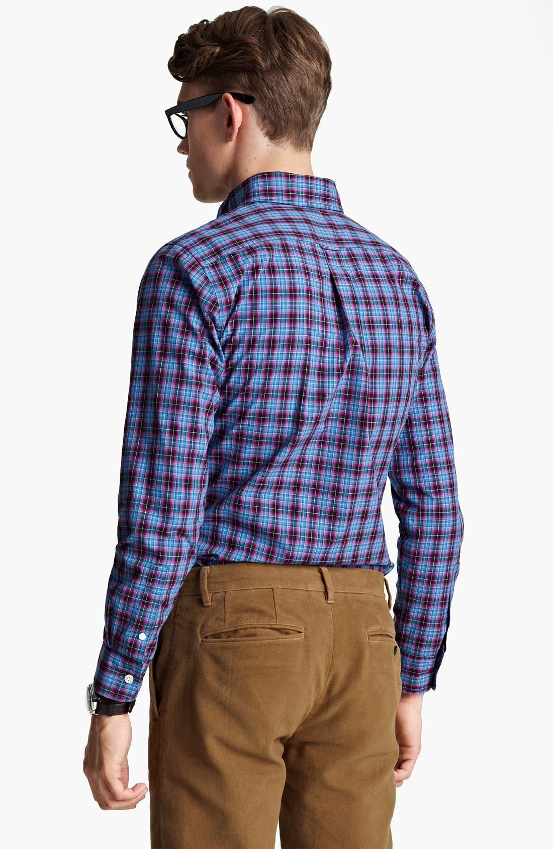 Alternate Image 2  - Jack Spade 'Arnet' Check Woven Shirt