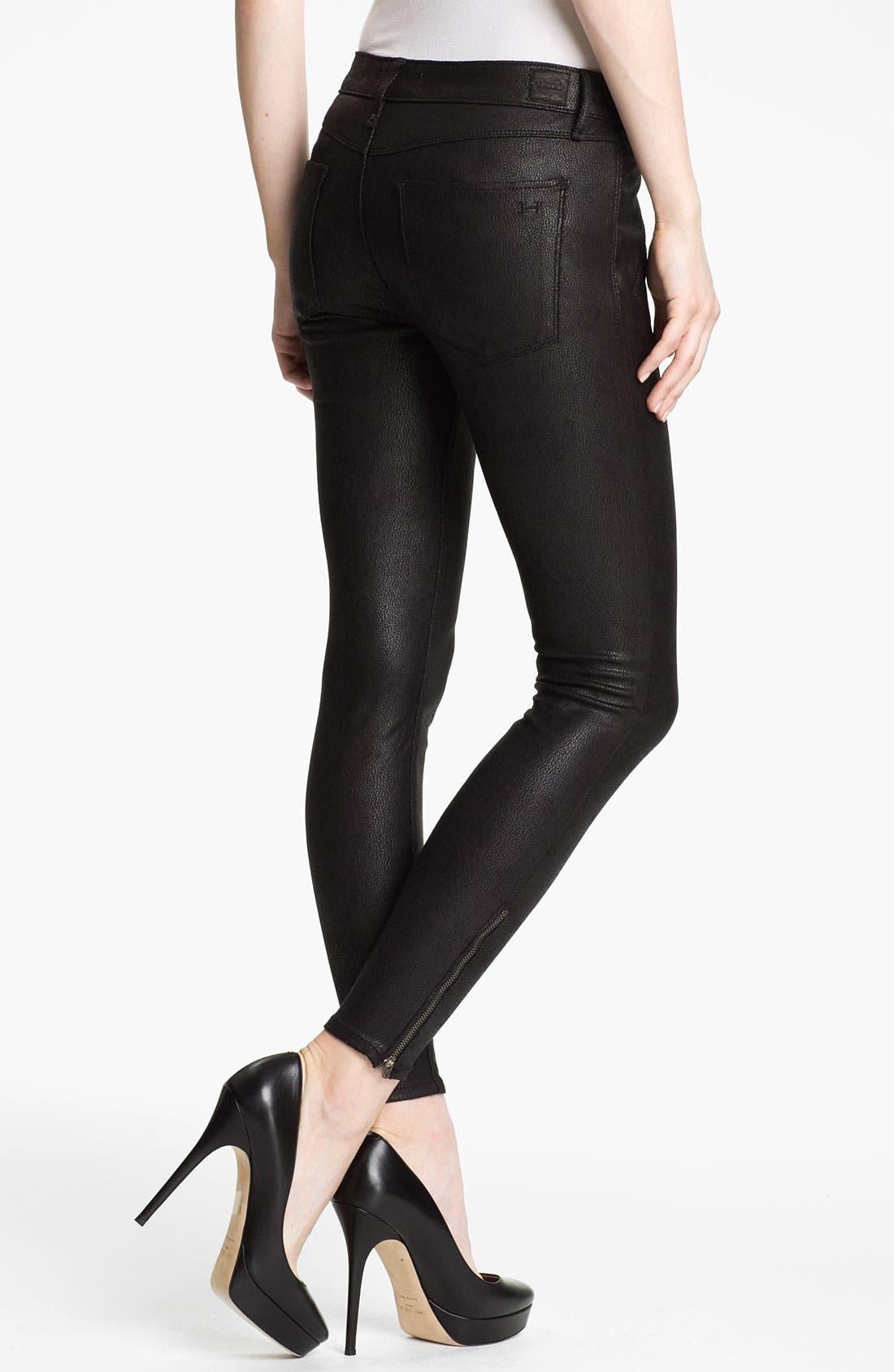 Alternate Image 2  - Habitual 'Amalia' Skinny Coated Faux Leather Pants