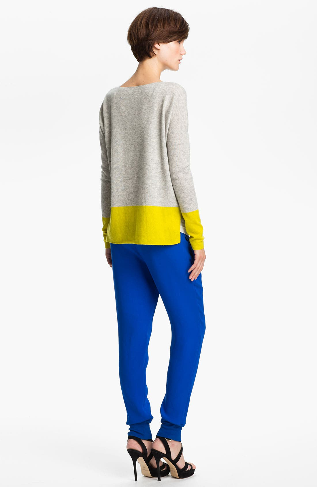 Alternate Image 2  - Vince Colorblock Cashmere Sweater