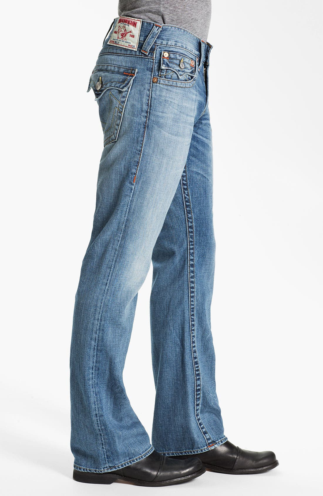 Alternate Image 3  - True Religion Brand Jeans 'Billy' Bootcut Jeans (Vam Shade Horizon)