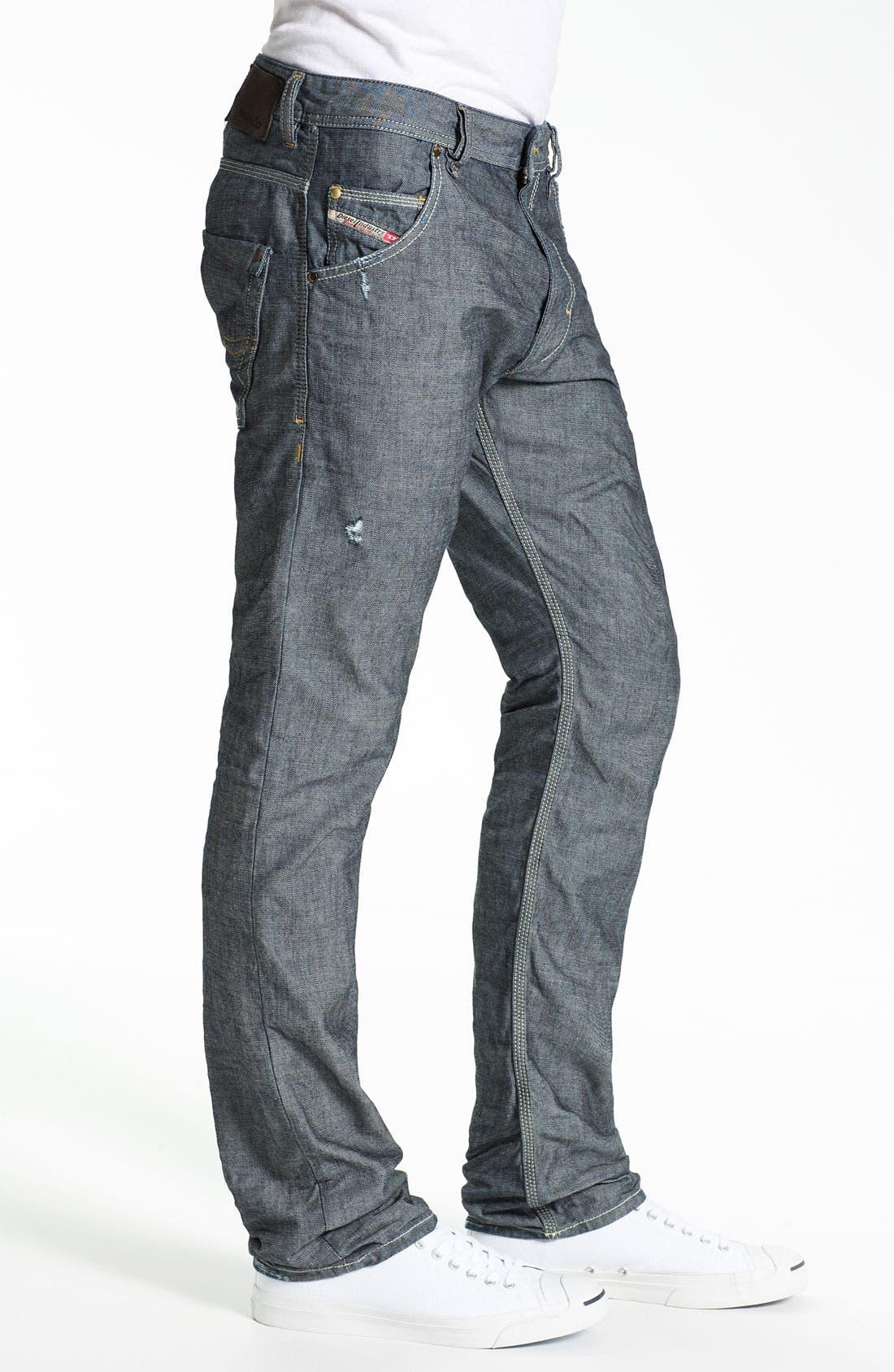 Alternate Image 3  - DIESEL® 'Safado' Straight Leg Jeans (0809D)
