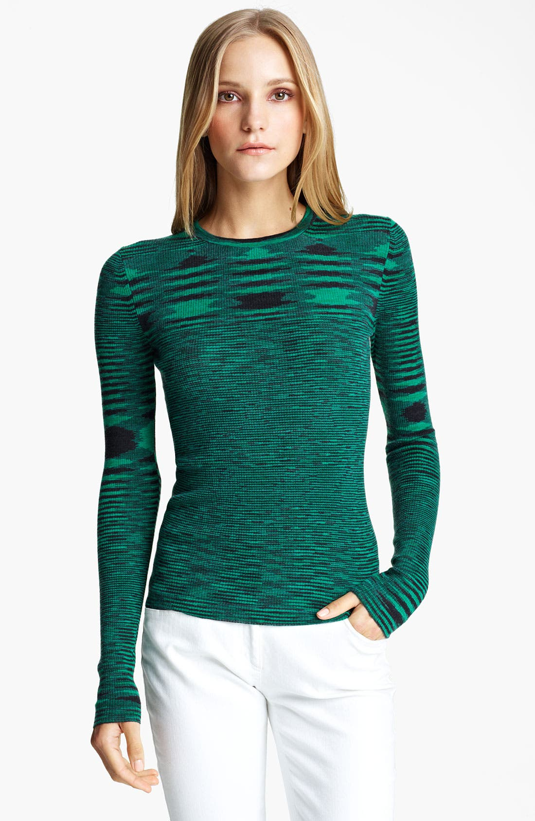 Alternate Image 1 Selected - Michael Kors Space Dye Cashmere Sweater