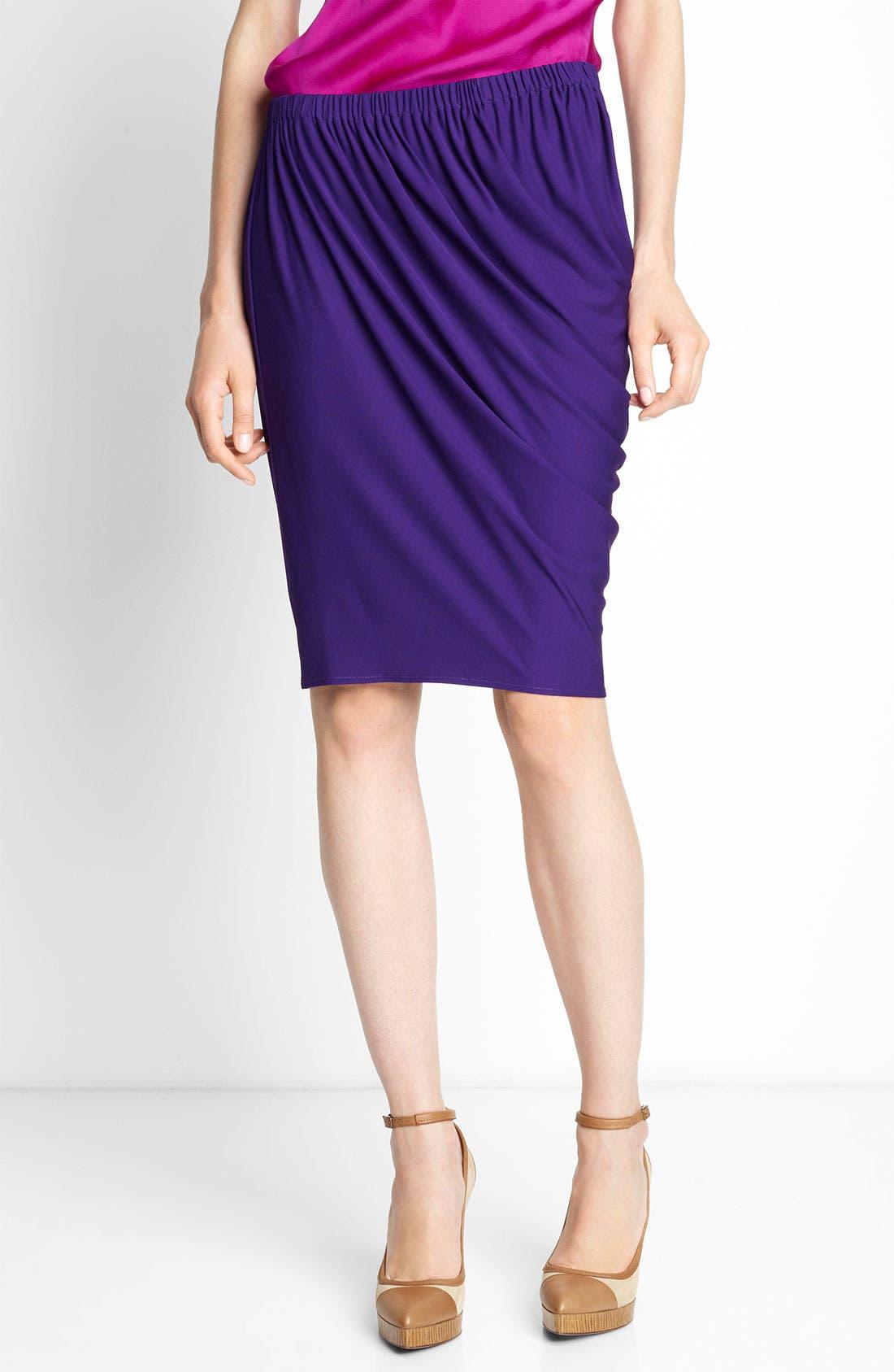 Alternate Image 1 Selected - Lanvin Draped Jersey Skirt