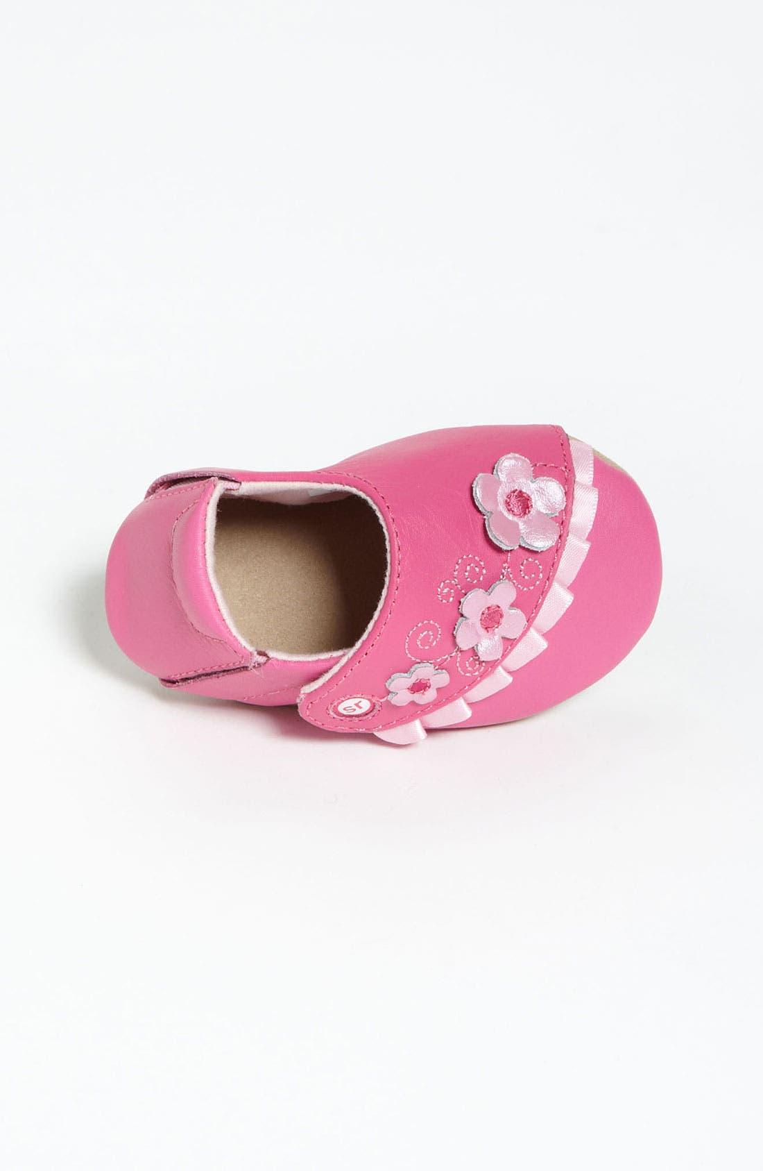 Alternate Image 3  - Stride Rite 'Rosy Ruffles' Crib Shoe (Baby)