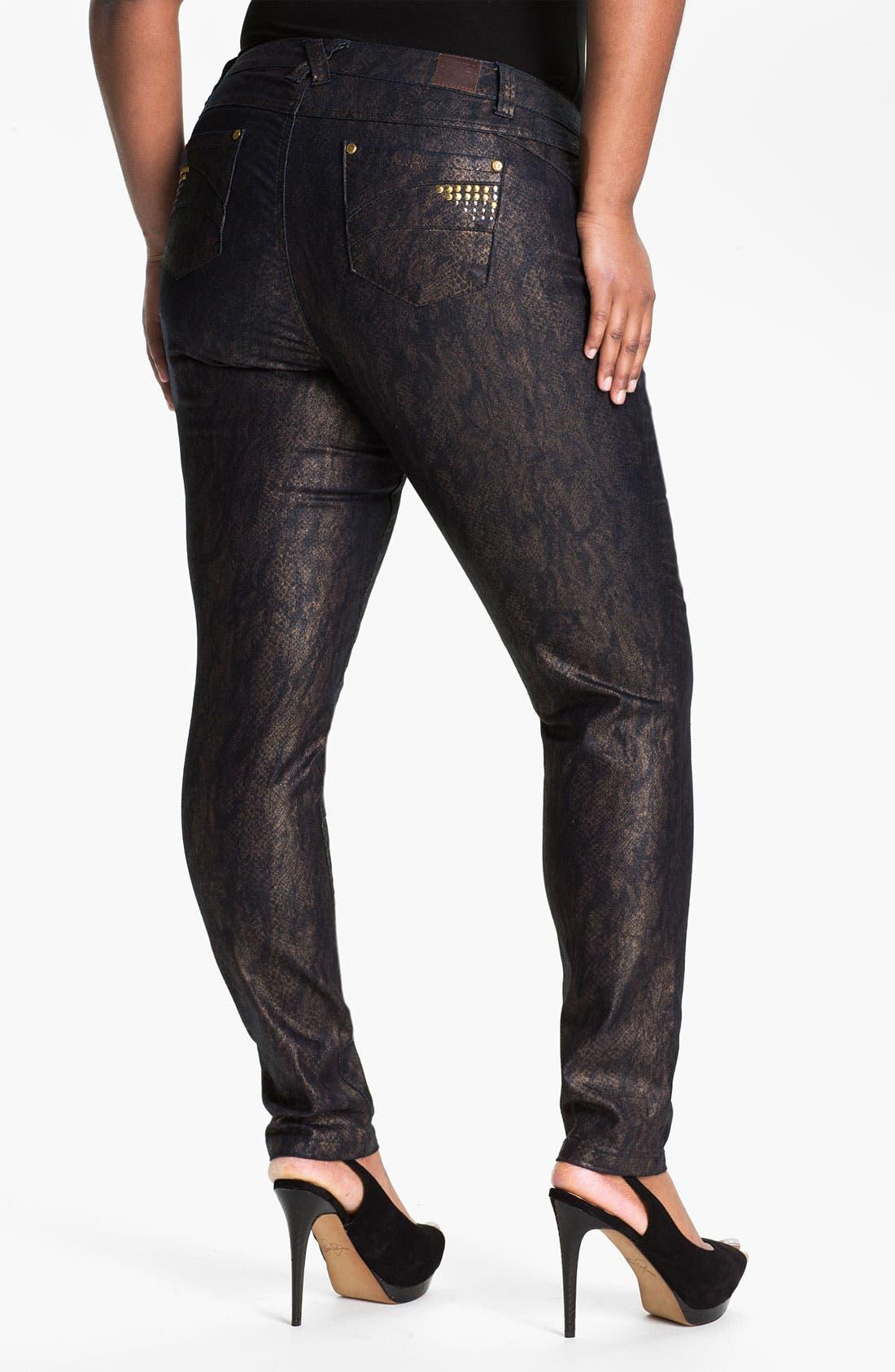 Alternate Image 2  - Mynt 1792 'Murray Hill' Skinny Jeans (Plus)