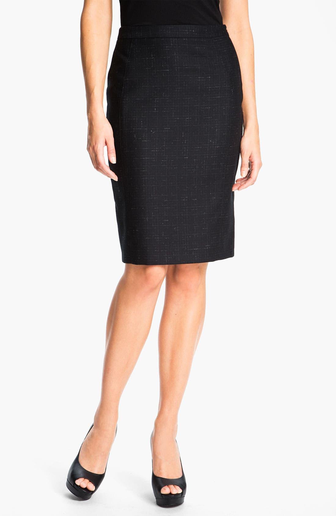 Main Image - Zanella 'Carol' Wool Skirt