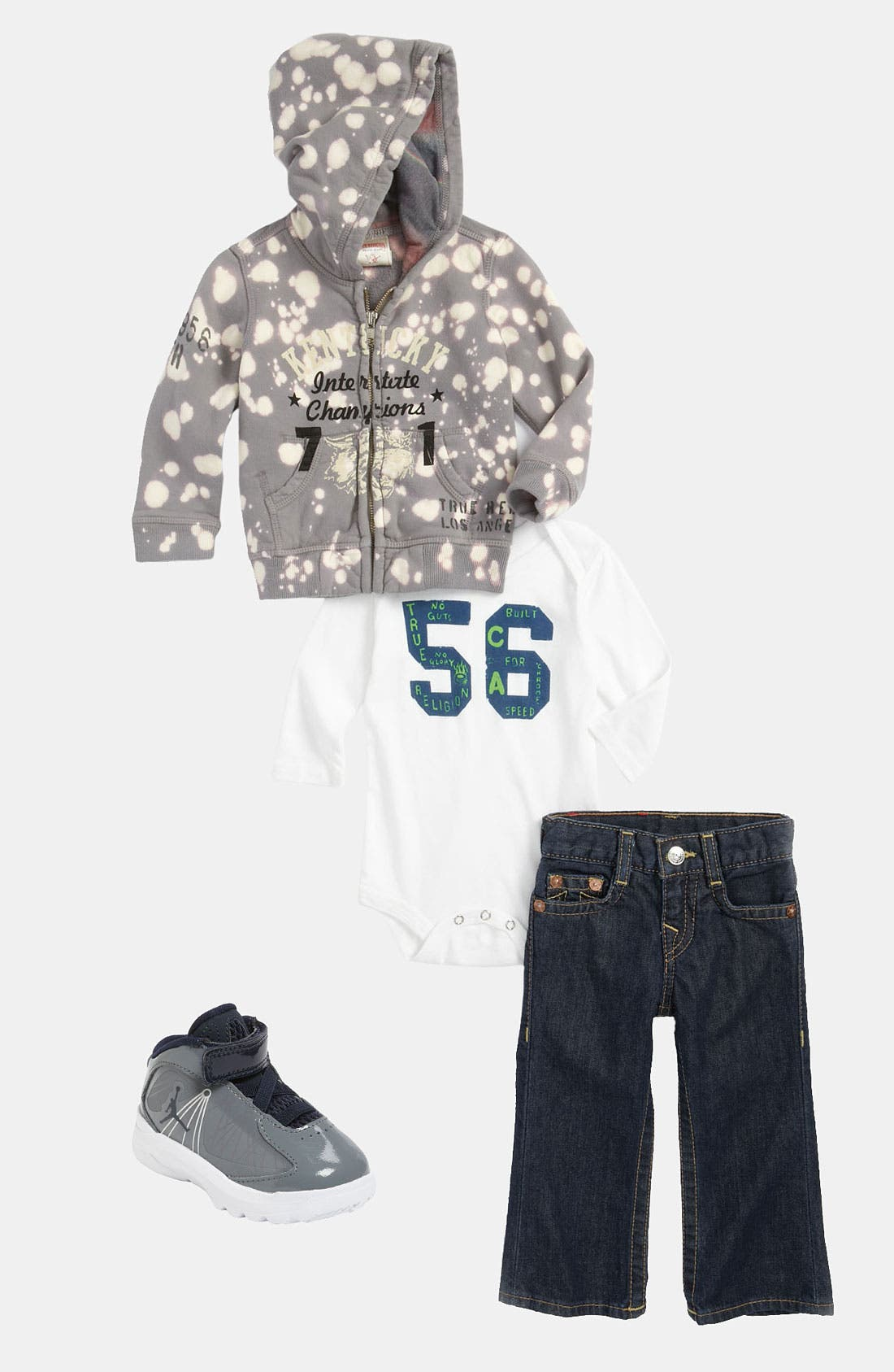 Alternate Image 5  - Nike 'Jordan Aero Flight' Sneaker (Baby, Walker & Toddler)