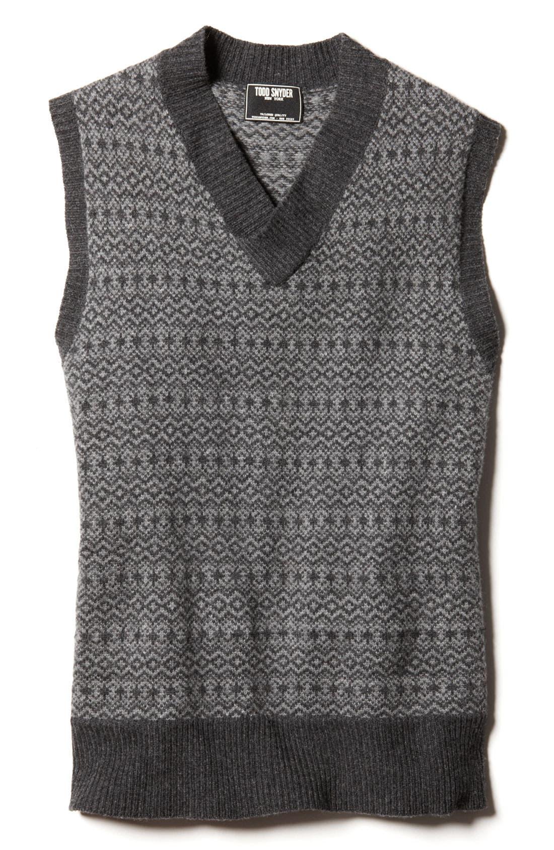 Alternate Image 2  - Todd Snyder Sweater Vest