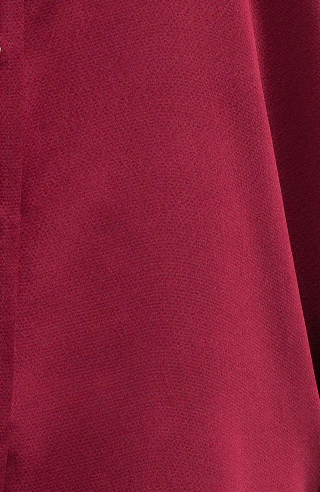 Alternate Image 3  - Eileen Fisher Hammered Silk Satin Blouse (Plus)