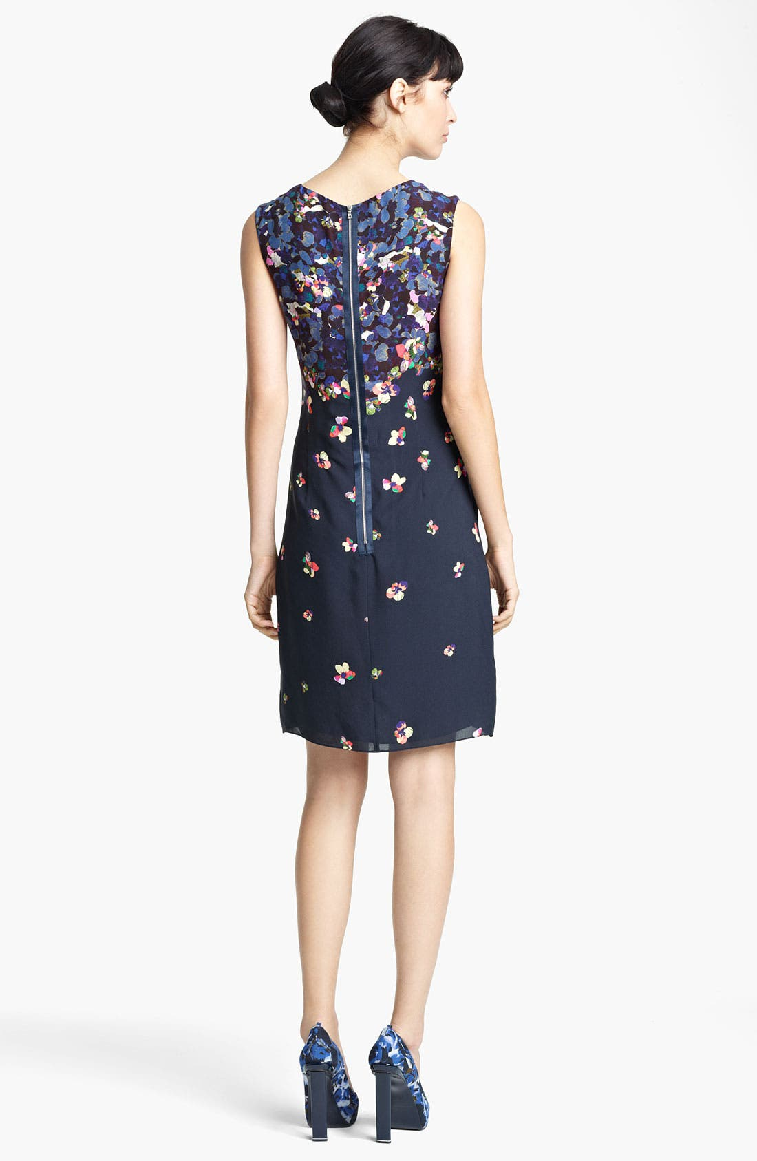 Alternate Image 2  - Erdem Print Sleeveless Shift Dress