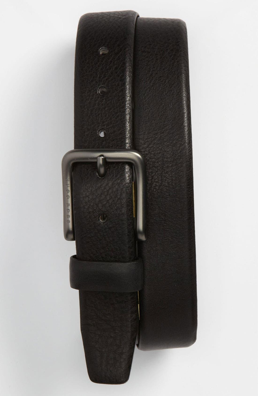 Alternate Image 1 Selected - BOSS Black 'Paristo' Belt