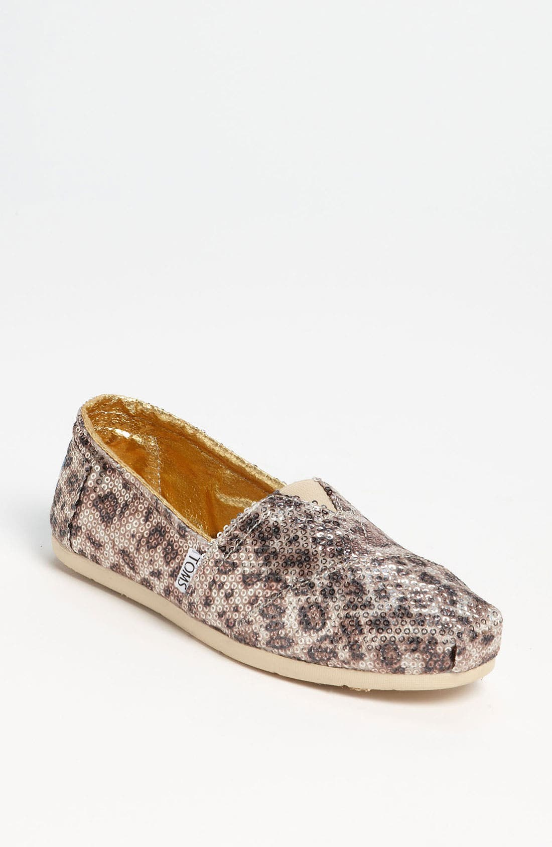 Alternate Image 1 Selected - TOMS+ 'Classic - Gold' Slip-On (Women)