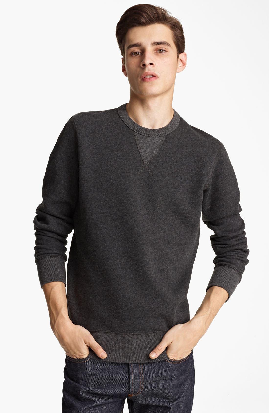 Alternate Image 1 Selected - Grayers Crewneck Fleece Sweatshirt