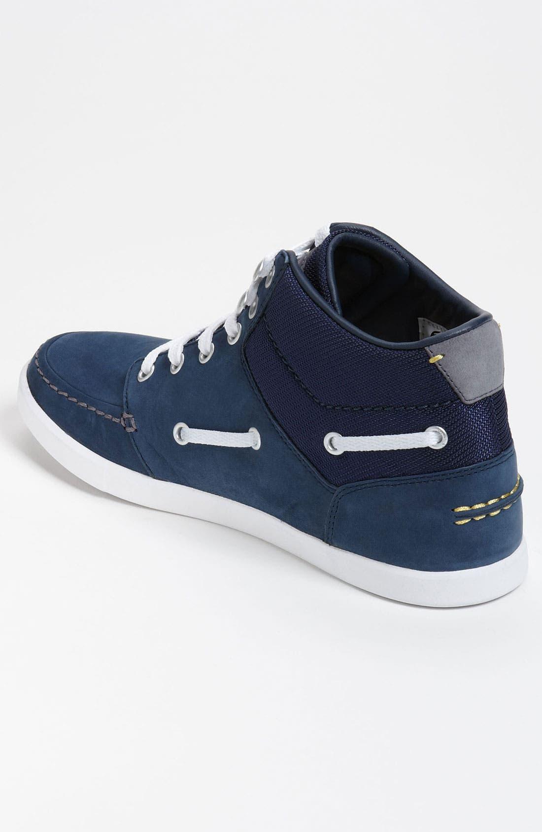 Alternate Image 2  - Lacoste 'Crosier Sail Mid' Sneaker