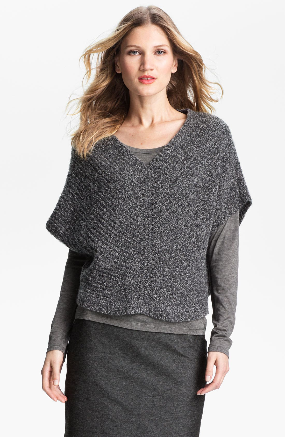 Main Image - Eileen Fisher Mélange Knit Sweater