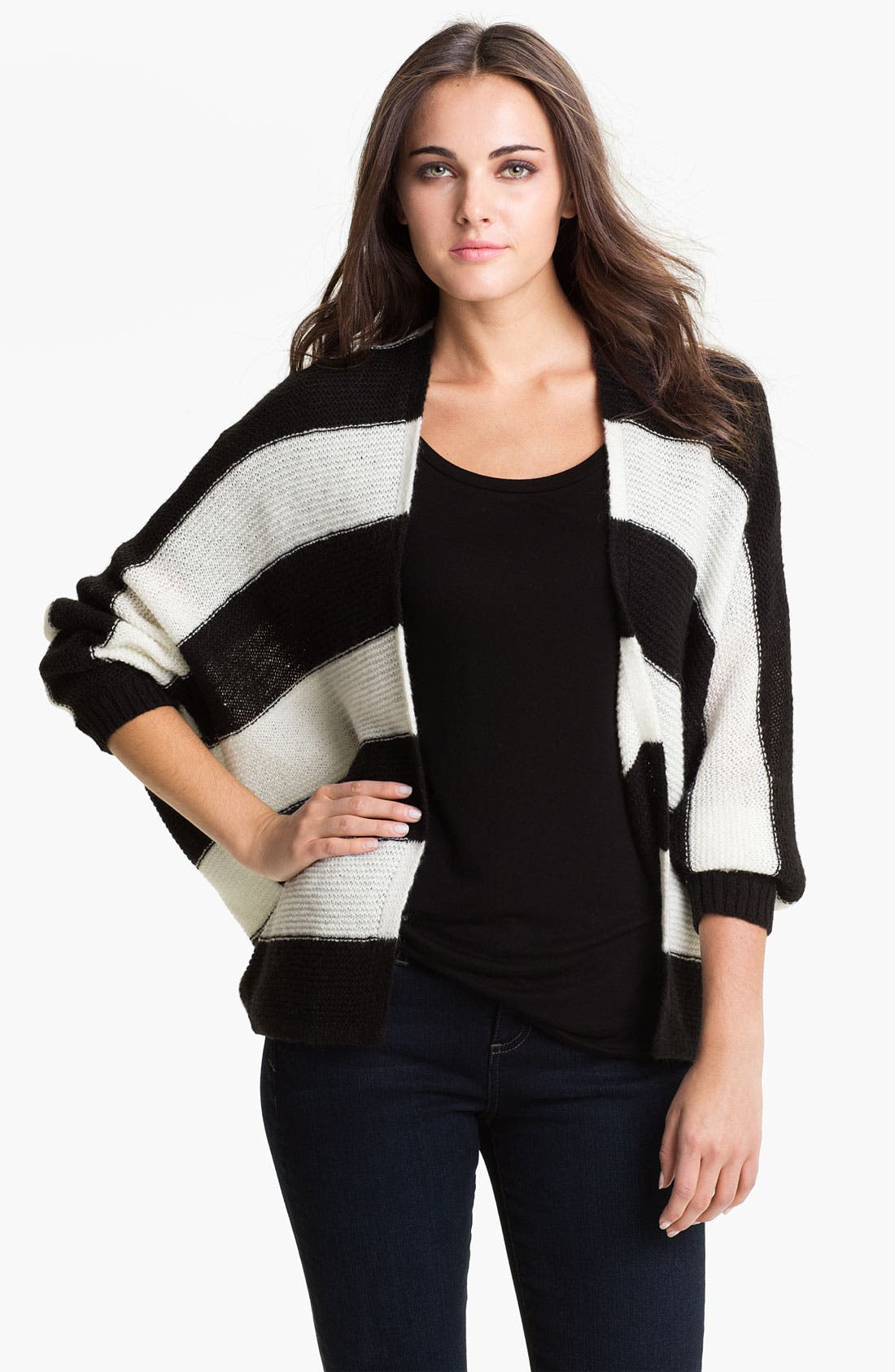 Alternate Image 1 Selected - Current Affair Chevron Stripe Sweater