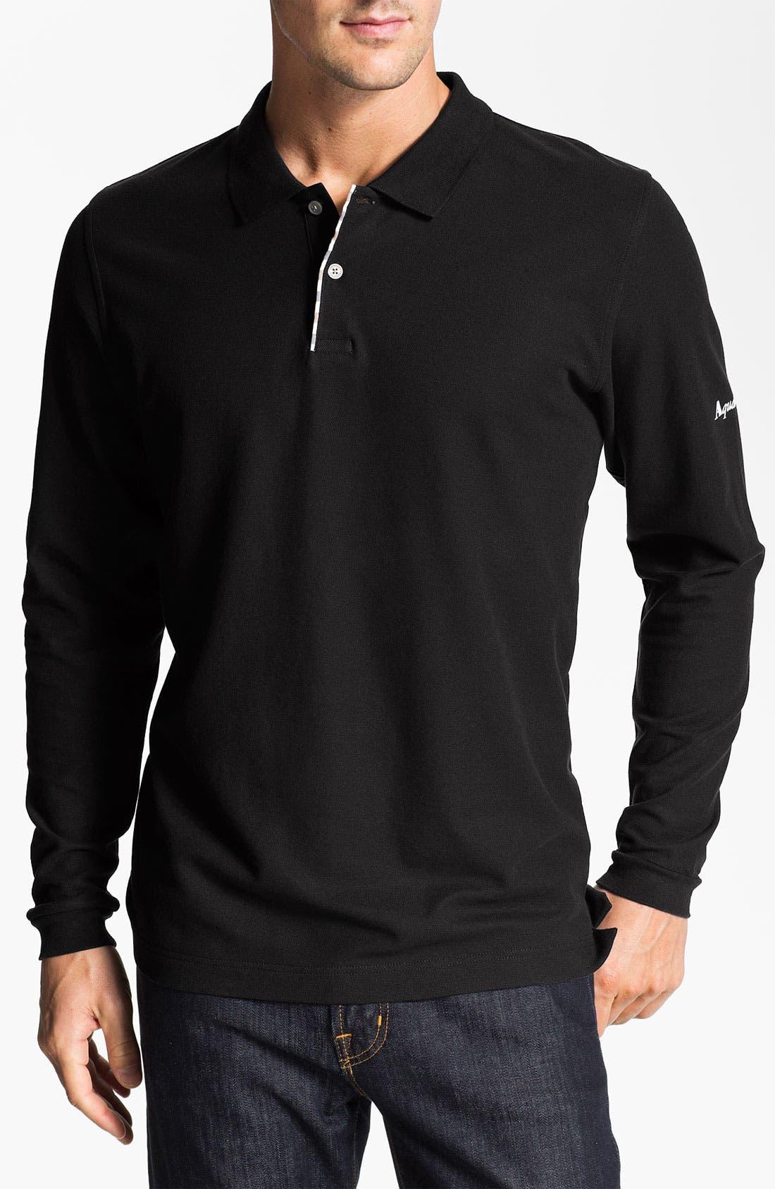 Main Image - Aquascutum Golf Cotton Polo
