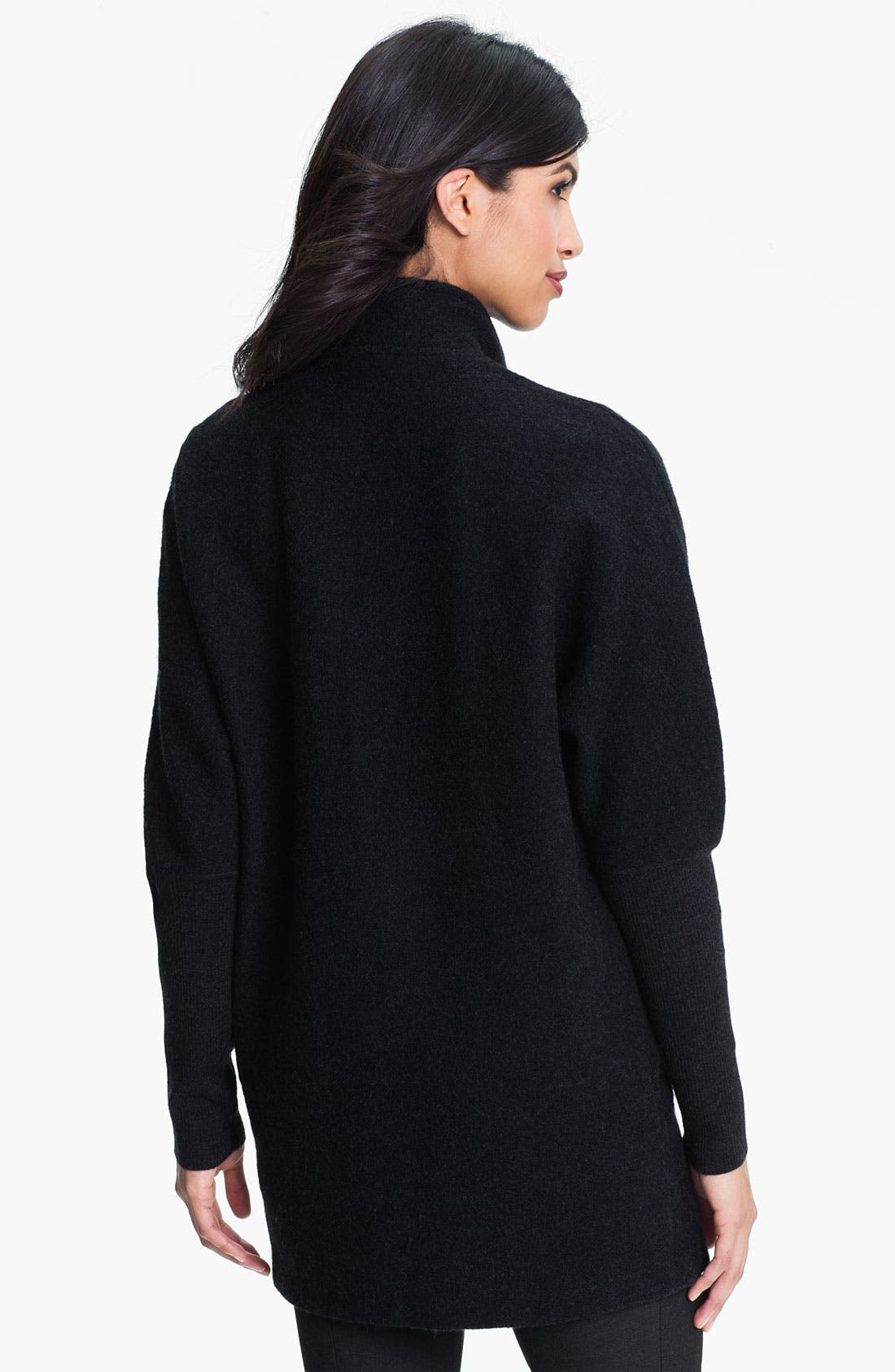 Alternate Image 2  - Eileen Fisher Notch Collar Wool Blend Coat (Online Exclusive)