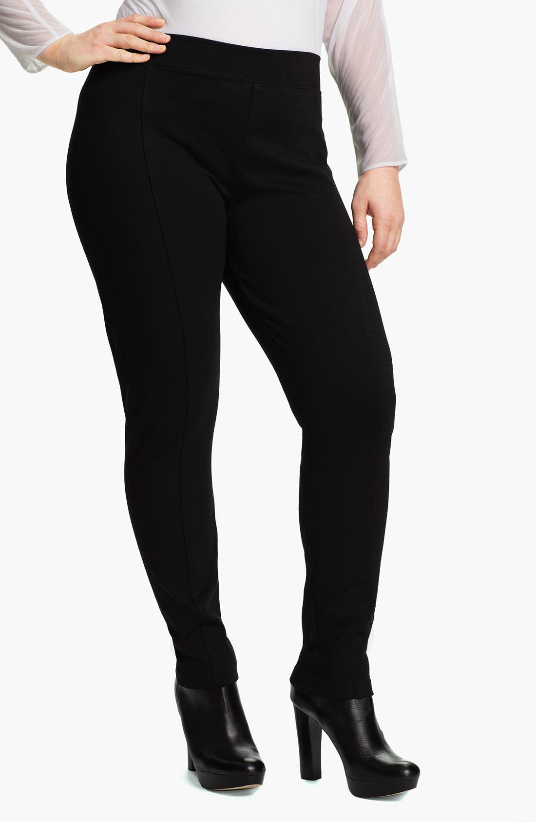 Main Image - Out of Ashes Skinny Leggings (Plus)
