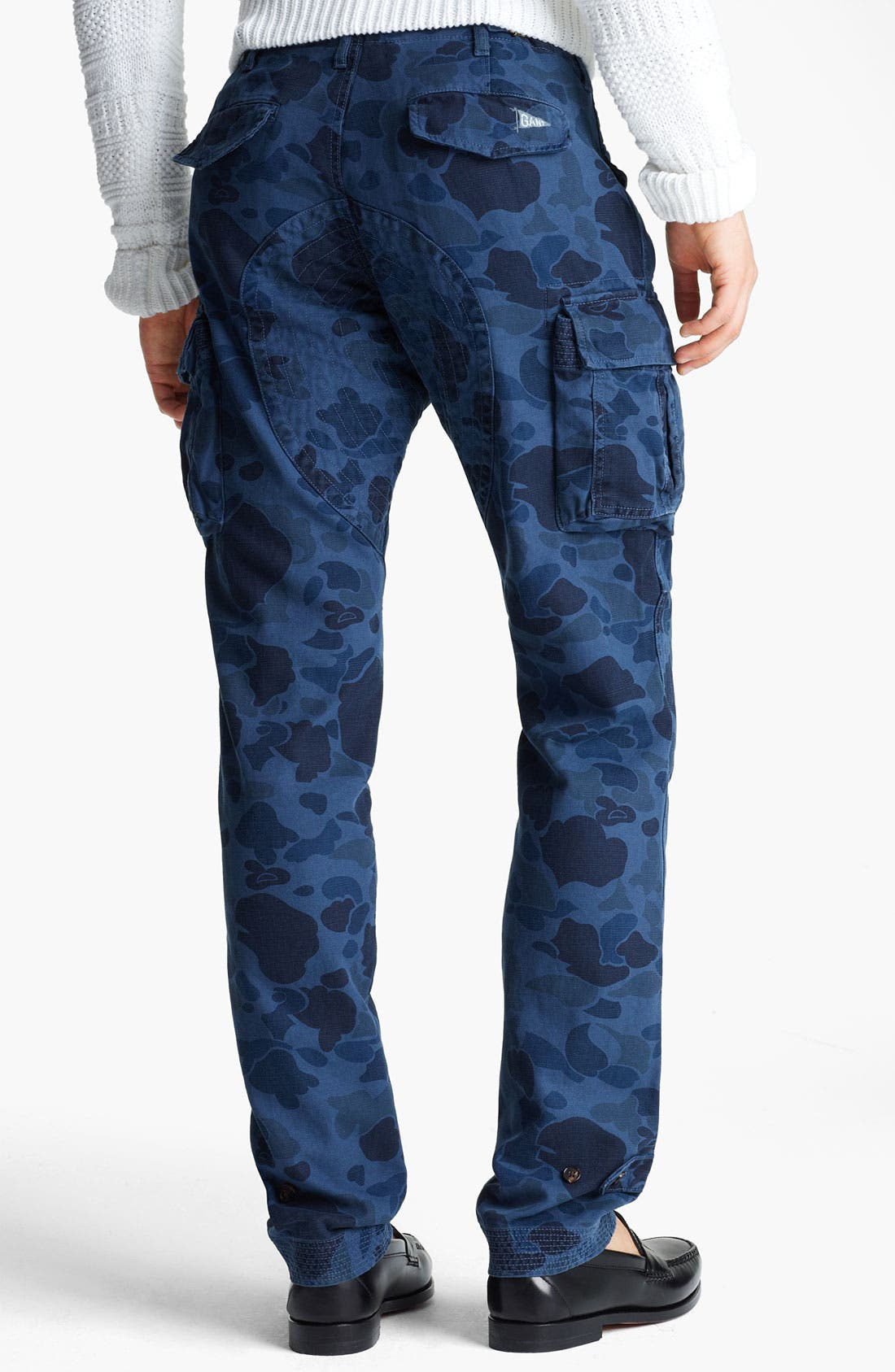 Alternate Image 2  - Gant by Michael Bastian Skinny Camo Cargo Pants