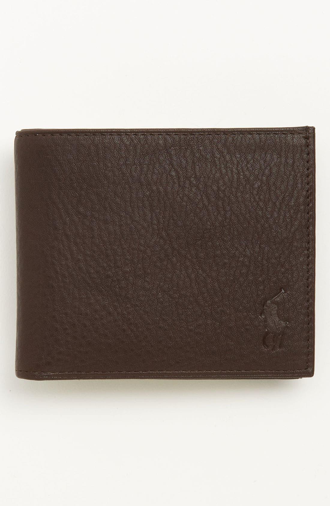 polo ralph lauren hat red polo ralph lauren mens wallet pebbled bifold wallet