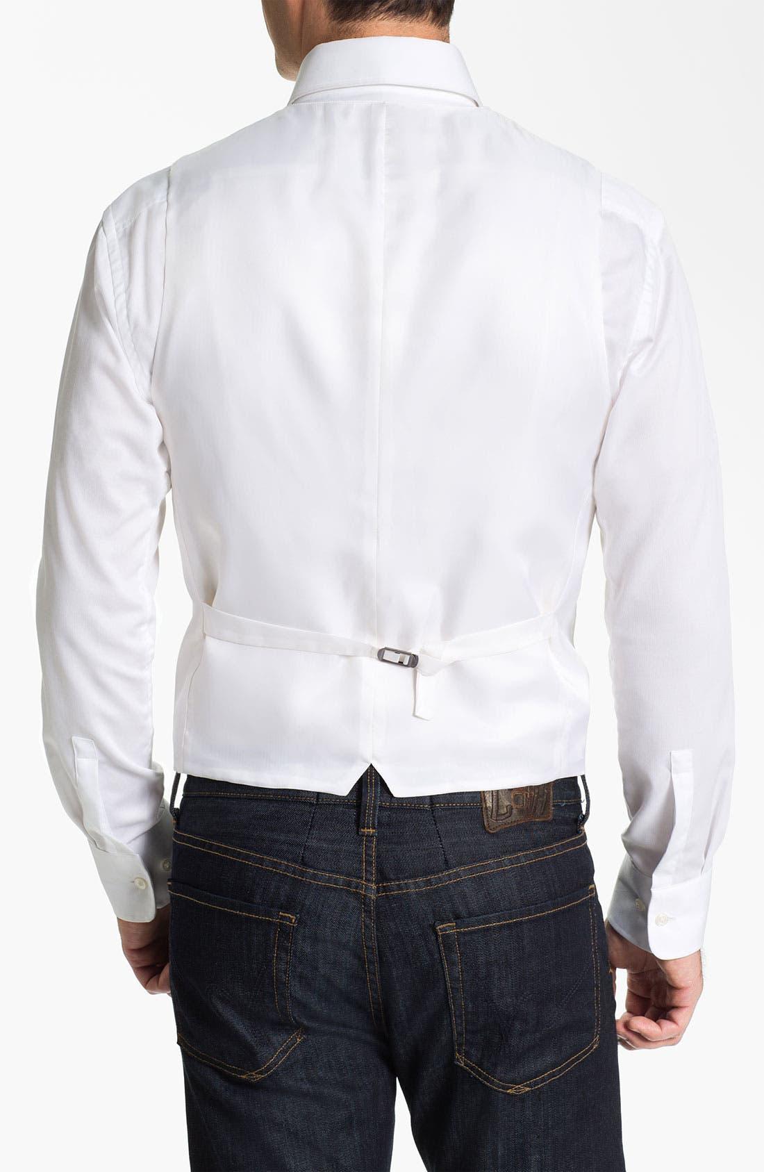 Alternate Image 2  - John W. Nordstrom® Linen Vest