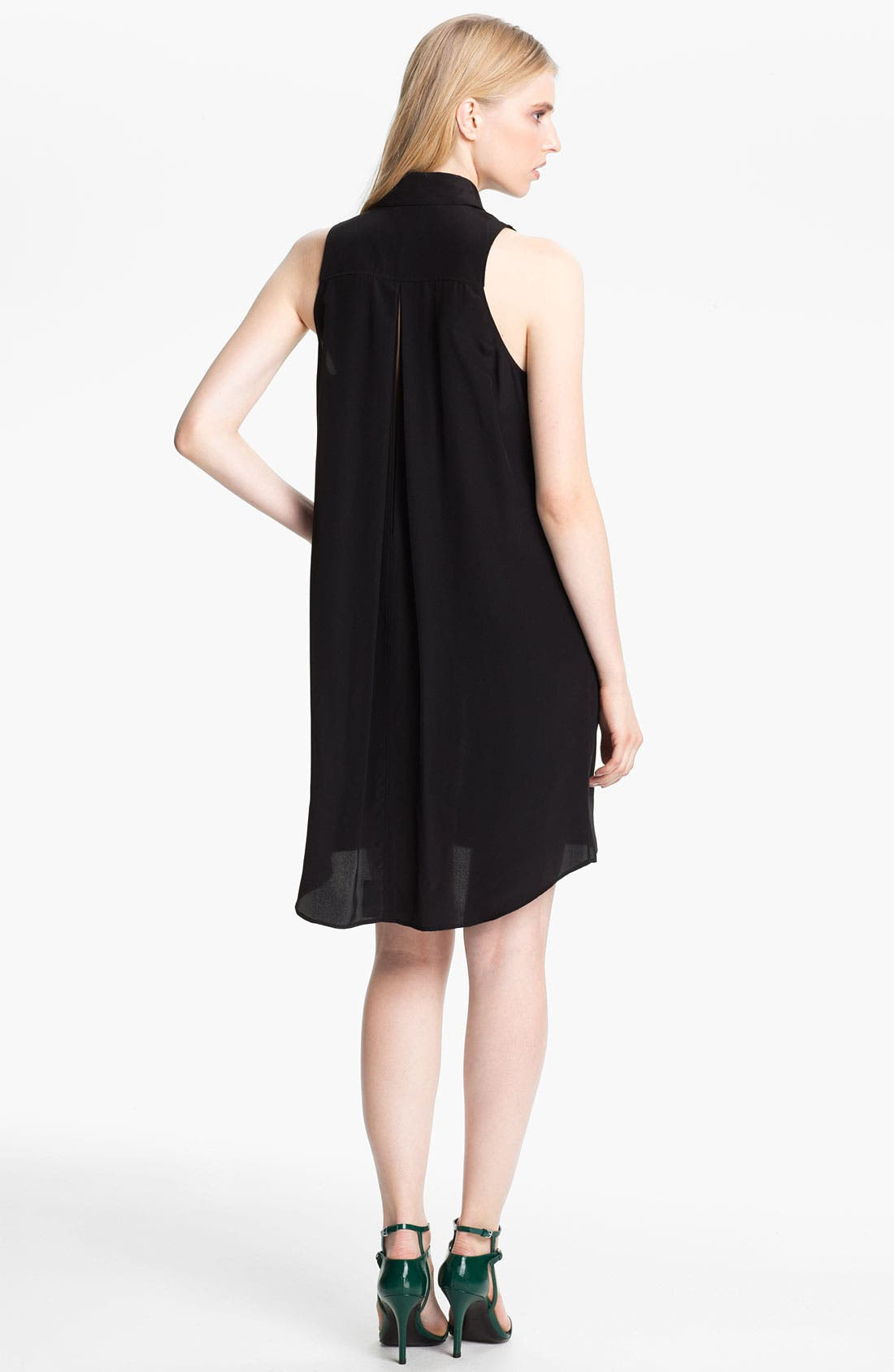 Alternate Image 2  - Alexander Wang Bicolor Sleeveless Shirtdress