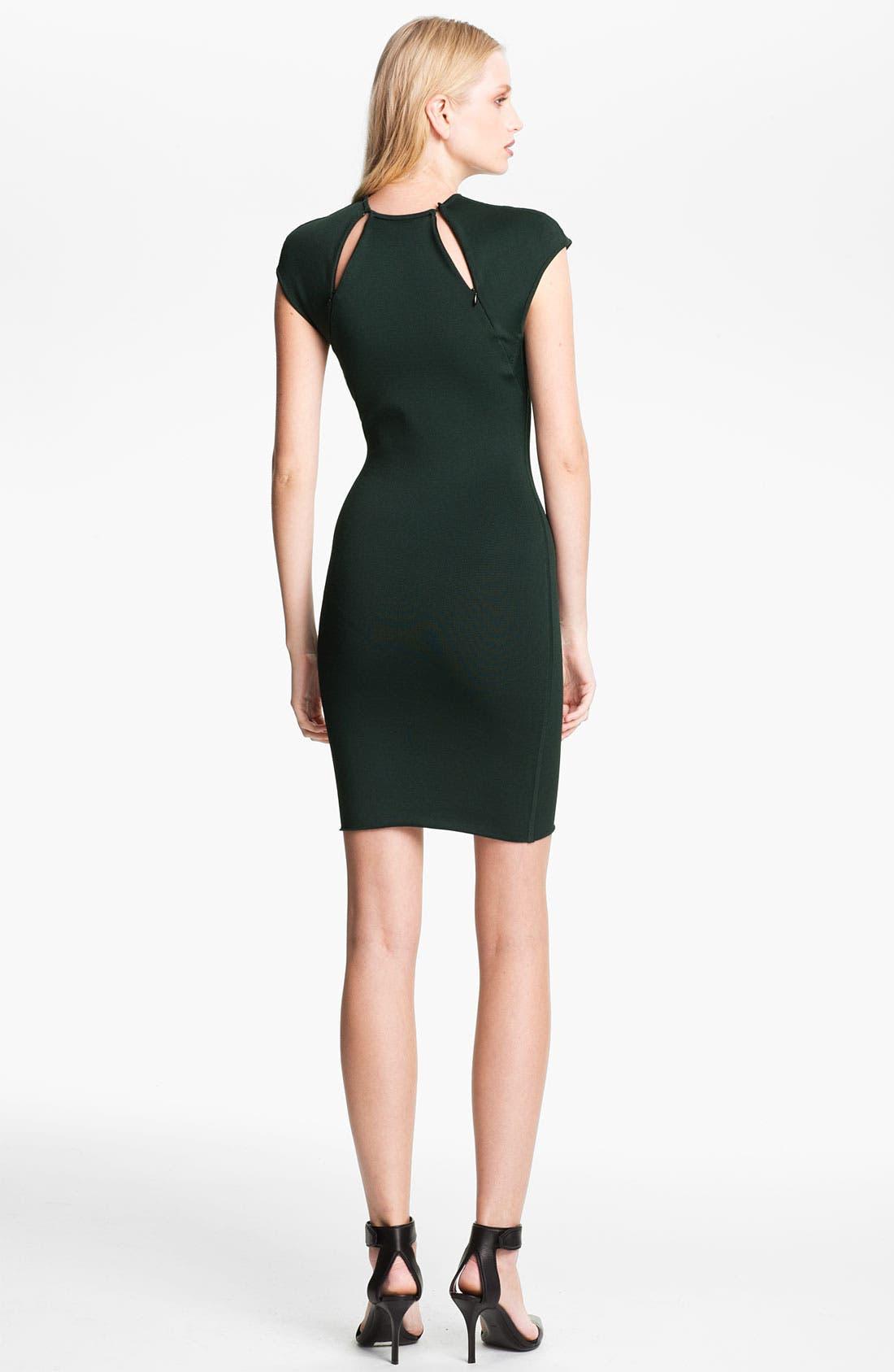 Alternate Image 3  - Alexander Wang Zip Detail Dress