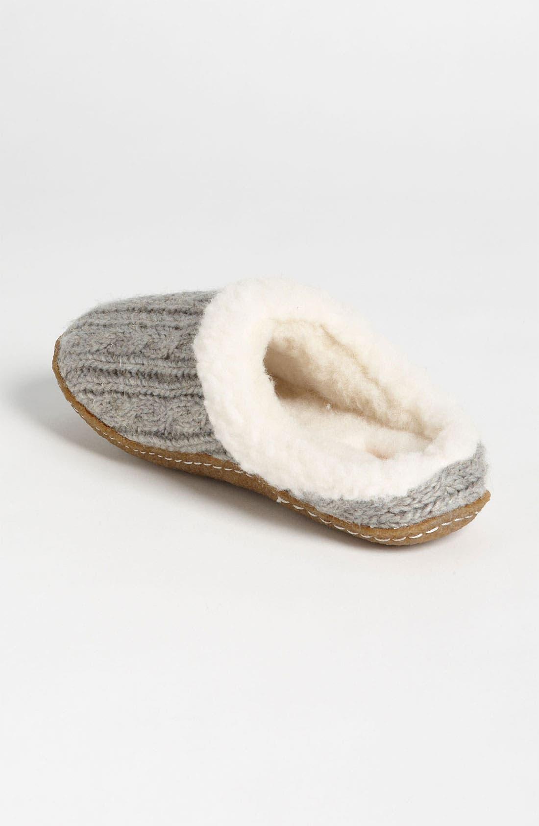 Alternate Image 2  - SOREL 'Nakiska' Knit Slipper (Women)