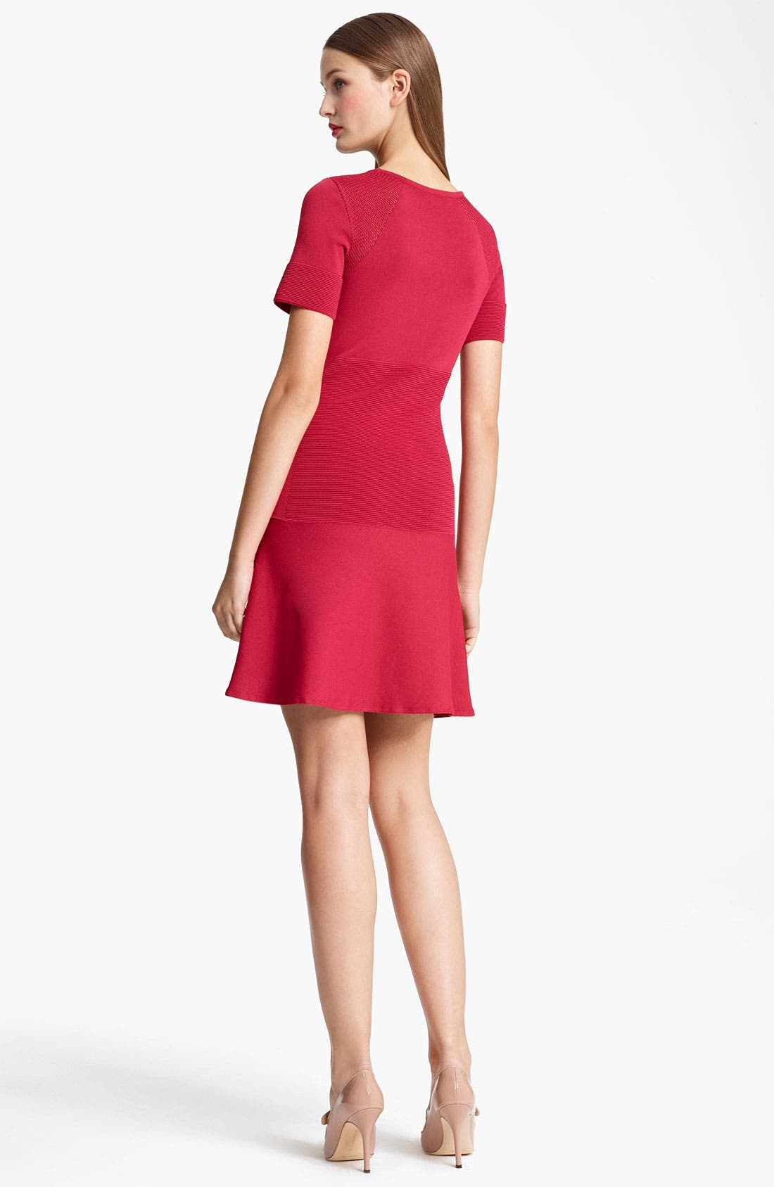Alternate Image 2  - Moschino Cheap & Chic Drop Waist Knit Dress