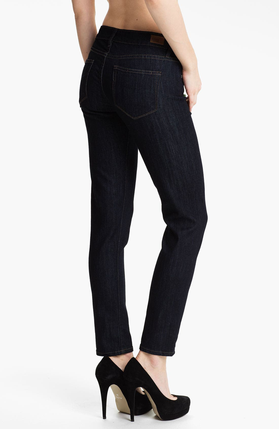 Alternate Image 2  - Paige Denim 'Skyline' Ankle Peg Skinny Stretch Jeans (Paris)
