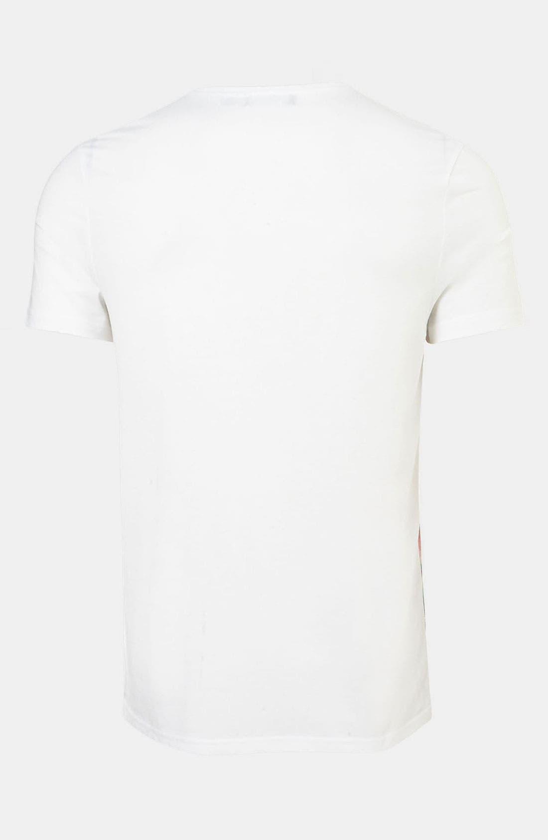 Alternate Image 2  - Topman Blanket Stripe Print T-Shirt