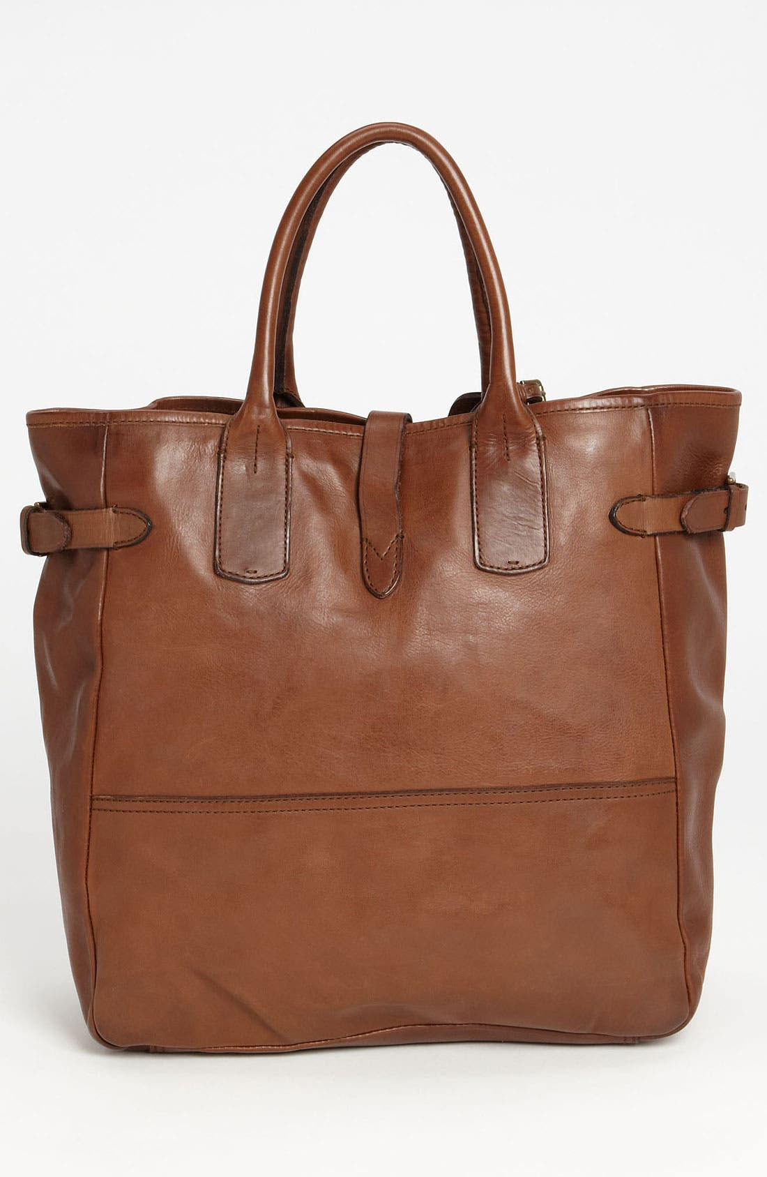 Alternate Image 4  - Polo Ralph Lauren Leather Tote