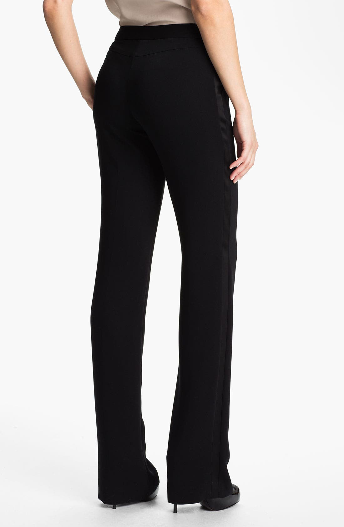 Alternate Image 2  - Anne Klein Tuxedo Pants (Petite)